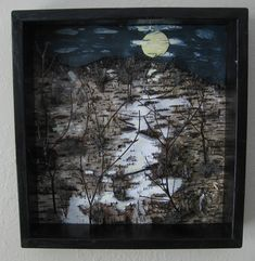 Original Birch  Bark  Wall Art