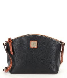 "Black:Dooney & Bourke Ruby Cross-Body Bag $148 @ Dillards... RUBY Crossbody...10"" x 7"" x 4.25"""