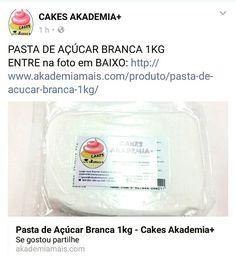 PASTA DE AÇÚCAR BRANCA 1KG ENTRE na foto em BAIXO: http://www.akademiamais.com/produto/pasta-de-acucar-branca-1kg/