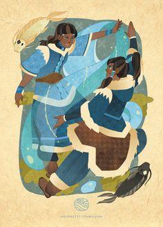 IsisT, Avatar: The Last Airbender, Avatar: The Legend of Korra, Katara, Korra, Fish