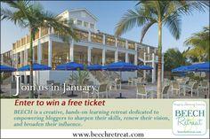 Win a ticket  to @BEECHRetreat - #bloggers #socialmedia