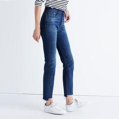 The Perfect Vintage Jean: Step-Hem Edition : denim | Madewell
