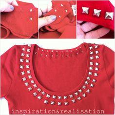 inspiración y realización: DIY moda blog: burberry-izing un suéter