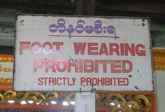 No feet allowed! #translation #fail