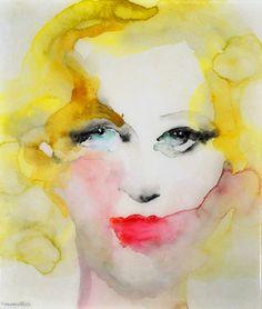 "Saatchi Art Artist Lisa Krannichfeld ; Painting, ""Thirty-six."" #art"