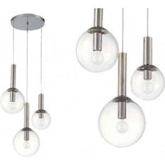 Gezien op Beslist.nl: Hanglamp 3 ball