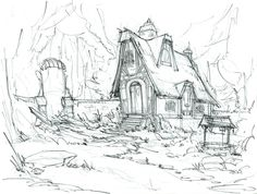Concept Art from Drawn: Trail of Shadows