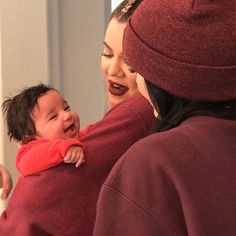 Khloe Kardashian cradles her giggling niece Dream in this adorable new photo!
