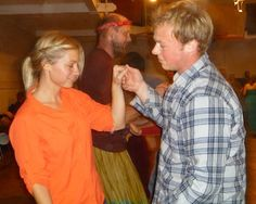 For a workout that feels more like a lively neighborhood party, try contra dancing, a traditional English country dance that's been popular in northeastern New England for centuries.