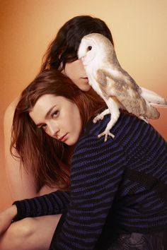 Ryan McGinley said these owls were total divas on set