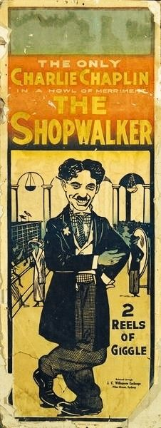 Charlie Chaplin 1936 Classic Movie Restored Poster or Print Exclusive NEW 2019