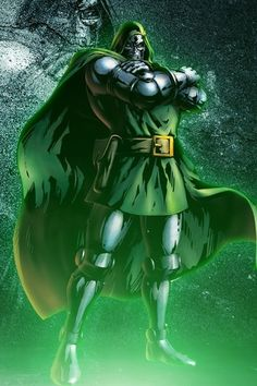 Doctor Doom from marvel vs capcom 3