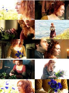 Demelza and her flowers