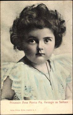 Anna Monika de Saxe (1903-1976) épouse de l'archiduc Joseph-Françis d'Autriche