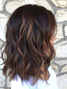 Golden Brown Balayage - 20 Best Golden Brown Hair Ideas to Choose From - The Trending Hairstyle Auburn Balayage, Brown Hair Balayage, Brown Hair With Highlights, Hair Color Balayage, Copper Highlights, Brown Hair Shades, Hair Color For Black Hair, Light Brown Hair, Dark Hair