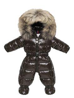 French Luxury Brand Winter Baby Snowsuit Newborn Warm Duck