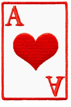 Embroidered Iron On Red Love Heart Patch Sew On Badge Romantic Gift Card Present