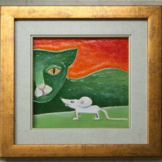 obraz ceramiczny, majolika Danuta Rożnowska-Borys BorysArt