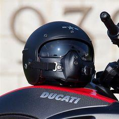 Harisson Corsair helmet - matte blackAlternative Image2