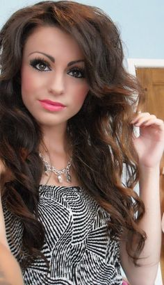 Cher Lloyd. Sorry this pic makes her look like a barbie doll :)