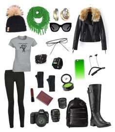 """Color Pop"" by sassysnappy ❤ liked on Polyvore featuring Timberland, SOREL, Karen Walker, Tallis, Sif Jakobs Jewellery, Marc Jacobs, Proenza Schouler, Canon, Elizabeth and James and Casetify"