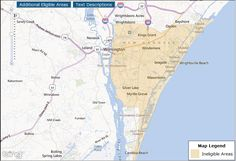 OMG The USDA Home Loan Maps in Wilmington NC show massive changes / areas that lose eligibility