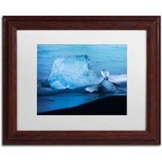 Trademark Fine Art 'Cold Matter' Canvas Art by Philippe Sainte-Laudy, White Matte, Wood Frame, Size: 11 x 14, Multicolor