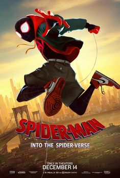New 'Spider-Man: Into the Spider-Verse' Posters Spotlight the Characters- Peter, Miles, Gwen, Spider-Ham, and more Spider-Verse heroes are on the way on December 14th! #marvel #spiderman