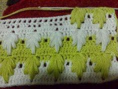How to Crochet Extreme Drop Stitch - Free Patterns Crochet Tree, Love Crochet, Crochet Motif, Crochet Crafts, Crochet Baby, Knit Crochet, Crochet Afghans, Blanket Crochet, Crochet Leaves