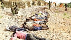 Muertos en Mandera, al norte de Kenia, en un ataque en diciembre de 2014