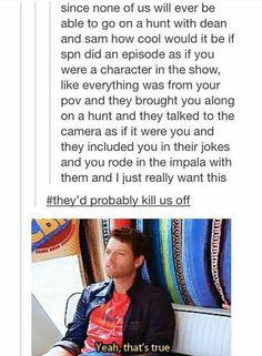 Not even in the supernatural fandom and I found this hilarious. Castiel, Supernatural Fandom, Supernatural Quotes, Supernatural Bloopers, Supernatural Tattoo, Supernatural Wallpaper, Sherlock Quotes, Crowley, Sam Dean