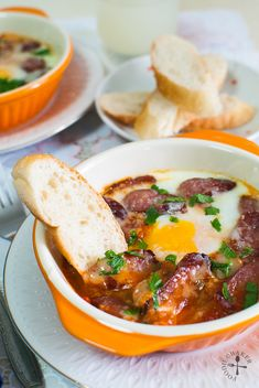 A sausage and eggs dish, with a twist!
