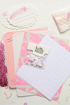 pretty papers and confetti