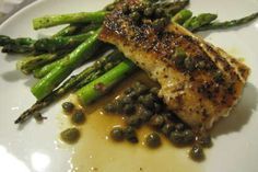 Recipe Mahi-mahi with lemon caper sauce, Easy, Main Dish. Probably as close to Mama's Fish House in Maui as I'm going to get on the mainland.
