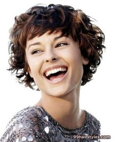 Messy Pixie Haircut for Curly Hair