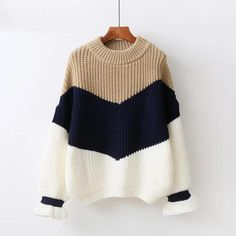 8aa5f1f14808a ByChicStyle Winter Pull Sweaters Women Loose Jumpers Korean Pullovers  Knitting Pullovers Sweater Christmas Sweaters