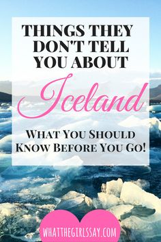 "Iceland Tips - Iceland Travel - What you should know about Iceland - Ever go on a trip and think ""I wish someone told me about this"" while you're there?! We did, and we would love to share, all we wish we knew about winter Iceland Travel!   We just got back from a winter trip to Iceland, and man, what a fun trip we had. But you always learn way more being there than you do hearing about it, so we collected our info of  ""Things No One Tells You About Iceland"", and wanted to share with you!"