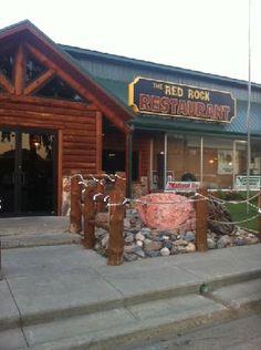 Red Rock Restaurant in Wall, South Dakota.