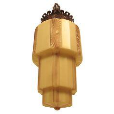 pictures of art deco lighting | Art Deco Light Fixture