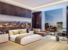 Wenzou | VOA Architects | Dream Hotel Room, Ideas for my future house and future bedroom renovation :)