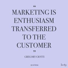 Marketing Enthusiasm
