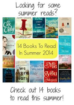 14 Books to Read in This Summer - The Chirping Moms