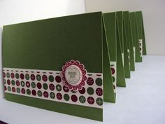 made with love by kme: Die letzten Weihnachtskarten (1)