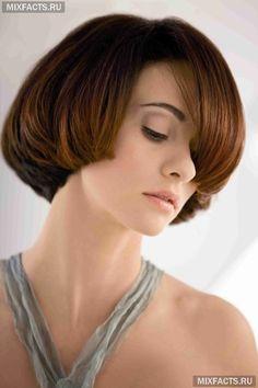 Стрижка без укладки на короткие волосы