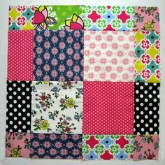 "Scrappy Disappearing 9-Patch Tutorial - This is the one to use all those squares accumulated.  Nice precise tutorial for ""newbies"" like me."