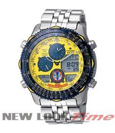 Relógio CITIZEN Promaster Navyhawk JN0047-59Y *Esquadrilha da Fumaça FAB*