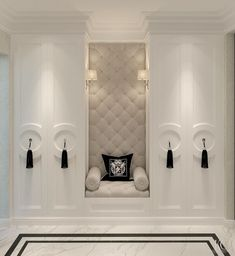 Master Closet Seating Cabinets 35 Ideas For 2019 Classic Interior, Home Interior Design, Interior And Exterior, Luxury Interior, Master Closet, Closet Bedroom, Wardrobe Closet, Master Bedroom, Closet Wall