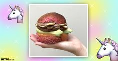 Now a 'unicorn burger' exists and it is being debuted at Vegan Life Live in London this weekend.  Brick Lane-based artisan foodies, Pomodoro E Basilico have come up with what sounds to be possibly the most bizarre sounding burger ever.  It's made from a toasted coconut and beet bun which is then layered with peach and basil jam, avocado, a 'unicorn patty', banana chips, and peanut butter and chocolate sauce.