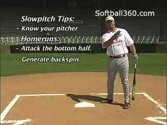 Men's Slowpitch Softball homerun hitters | hitting 5_Homerun vs. base hitting Softball Slo Pitch Slowpitch ...