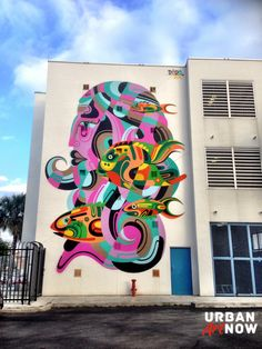 LIVE FROM MIAMI: new mural by REKA for RAW Project in Wynwood…